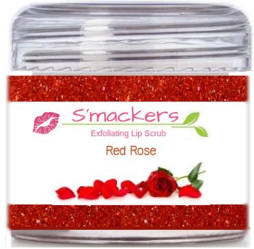 Red Rose Lip Scrub