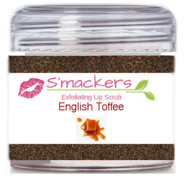 English Toffee  Lip Scrub