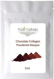 2 oz Chocolate Collagen Powder Masque.pn