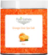 Orange Zest Spa Salt