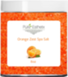 Orange Zest Spa Salt