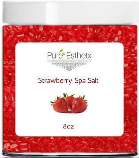 Strawberry Spa Salt