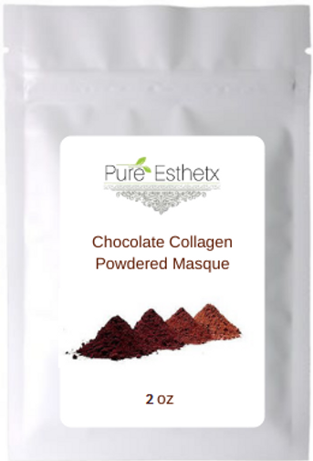 2 oz Chocolate Collagen Powder Masque.pn