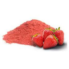 powdered strawberry fruit