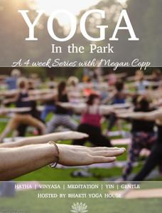 Yoga in the Park - 4 Week Series
