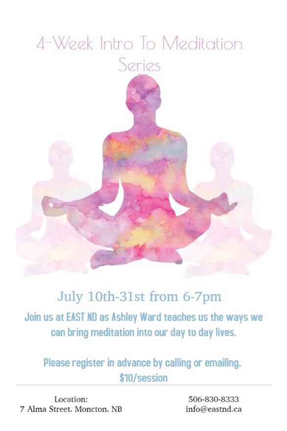 4-Week Intro to Meditation Series