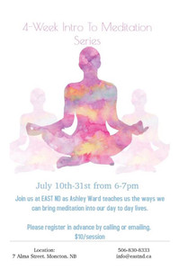 4-Week Intro to Meditation Series