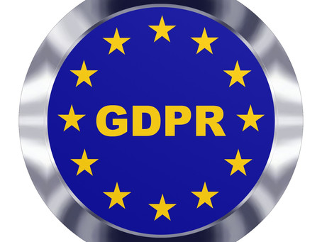 You can bet you are in violation of the GDPR now!