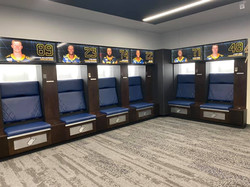 WVU Football Lockers