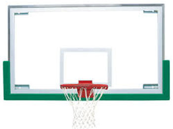 "42"" x 72"" Short Unbreakable ""XL"" Glass Backboard"