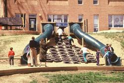 Beauvoir School hill Slides (2)
