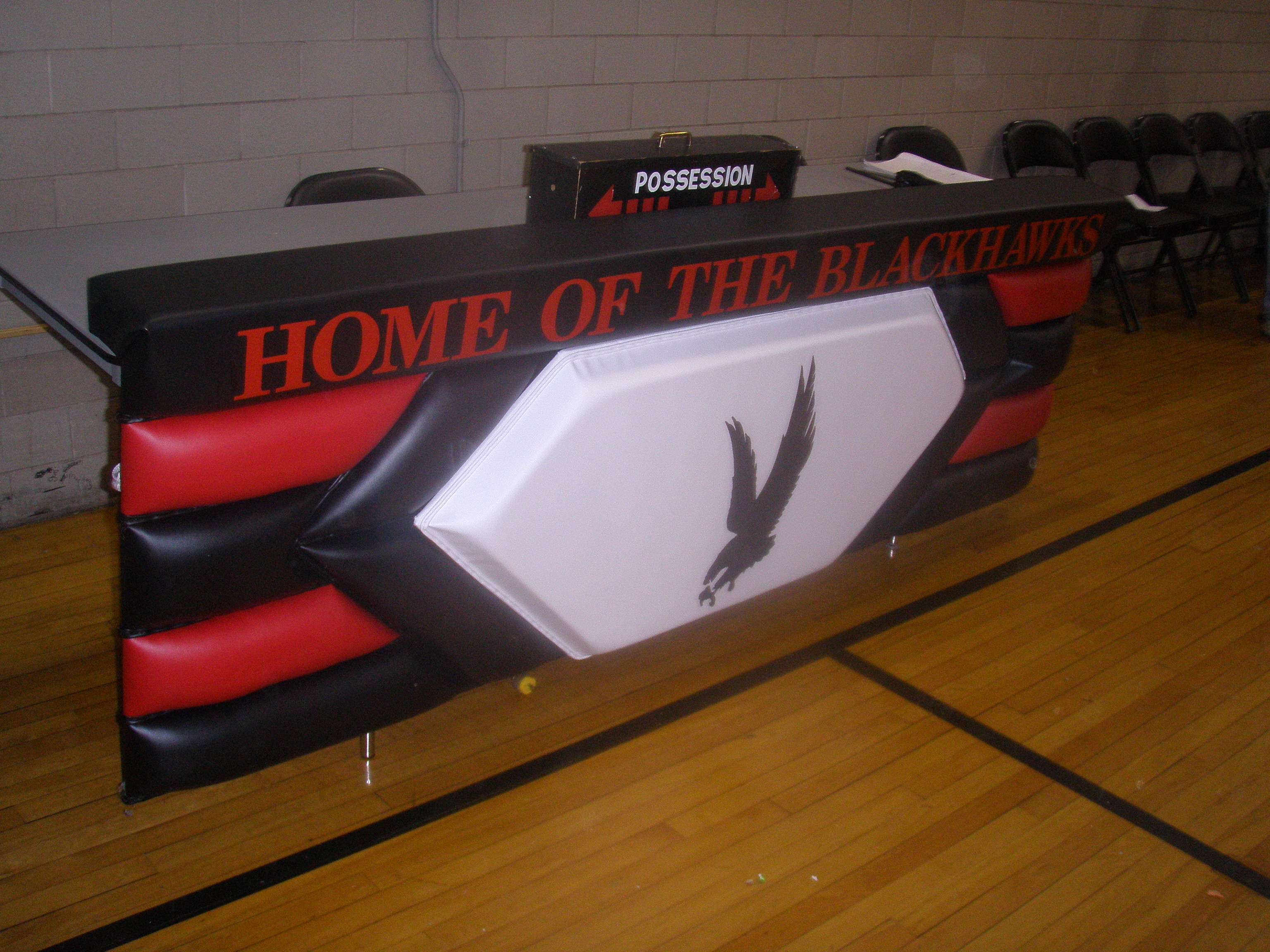 6' Logo Pading Scorers Table