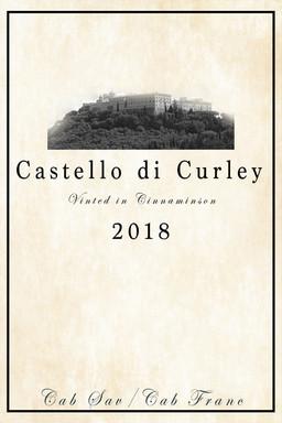 Castello di Curley Wine Label