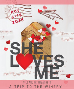"""She Loves Me """"A Trip to the Winery"""" Wine Label"""