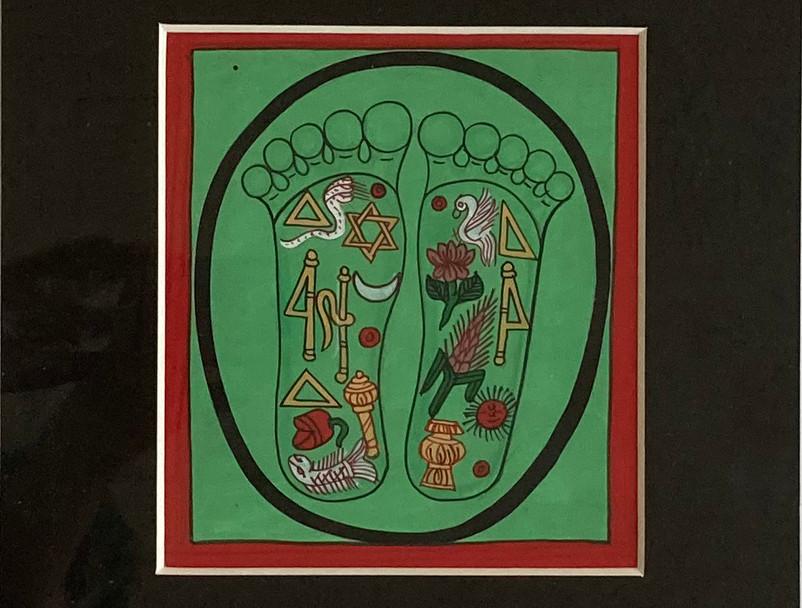 Vishnu Pada (Lord Vishnu Lotus Feet)