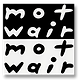 official mot-wair logo - (black & white)