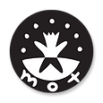 official mot-art logo - (black & white)