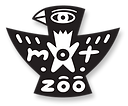official mot-zoo logo (black & white)