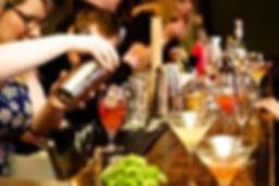 cocktail class, hen party, cocktails, bar
