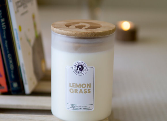 Large Jar Scented Soy Candle