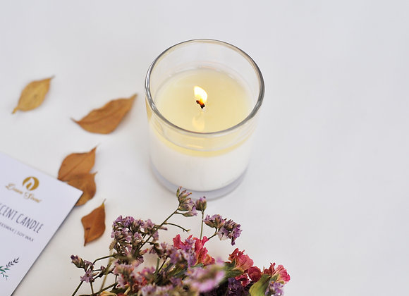 Small Glass Scented Soy Candle
