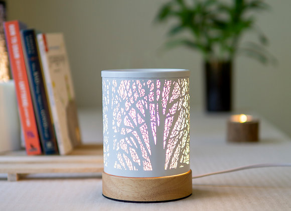 Wax/Oil Warmer Forest-White-S