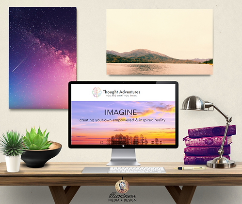 Thought Adventures Landing Page