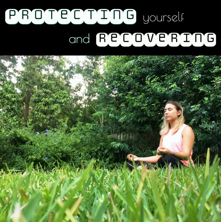 PROTECTING YOURSELF AND RECOVERING FROM NEGATIVE, DRAINING ENERGIES