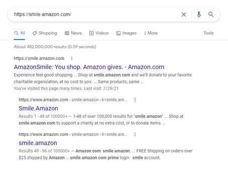 Amazon Shoppers - Smile!
