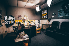 KATS Studio, King and the Sting podcast