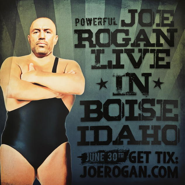 Drastic Grafix Joe Rogan Graphic Design