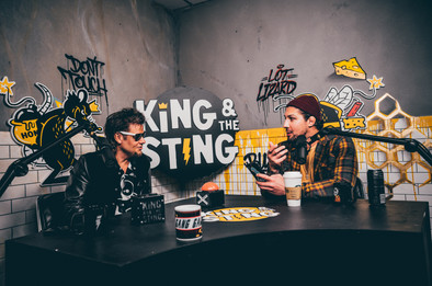 Theo Von & Brendan Schaub, King and the Sting podcast