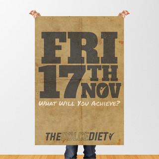 Mike Dolce Drastic Grafix poster design