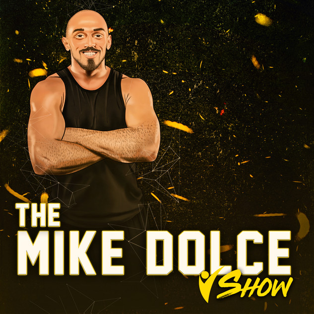 Mike Dolce Drastic Grafix podcast graphic