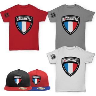 GLORY Kickboxing drastic grafix tshirt apparel design