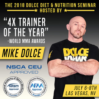 Mike Dolce Drastic Grafix UFC