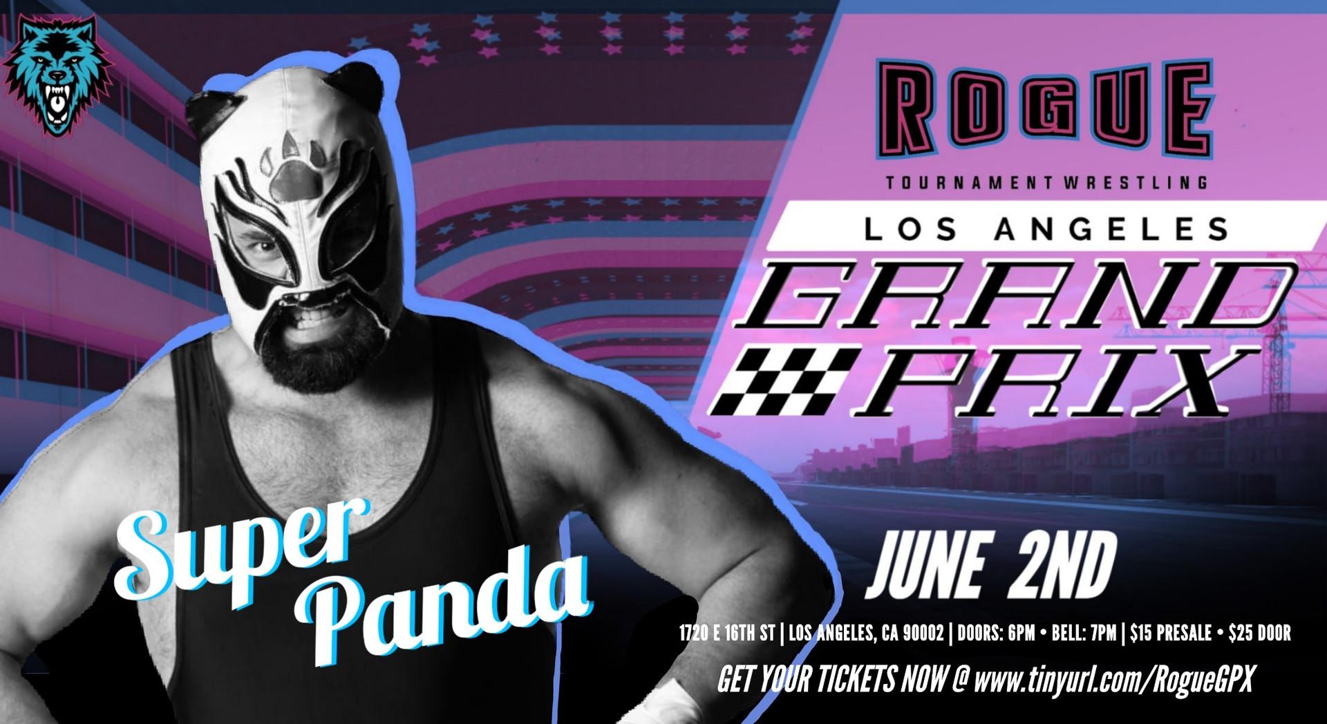 Super_Panda_Rogue_Wrestling_Los Angeles_