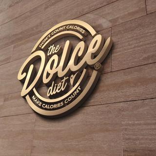 Print Advertising Design Fitness Branding dolce diet