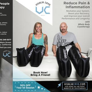 Print Advertising Design Fitness Branding cryo