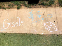 Sidewalk Chalk Art 2