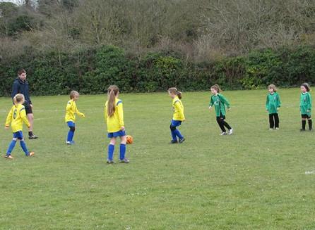 GIRLS FOOTBALL SPRINGS UP ACROSS CAMBRIDGESHIRE
