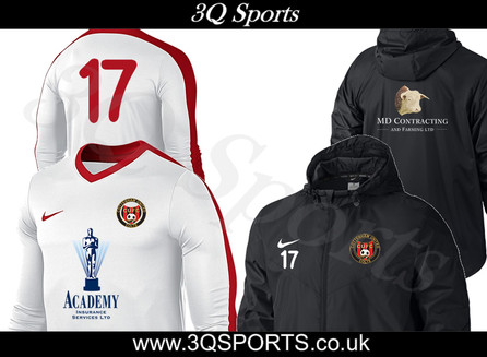 MD Contracting sponsors the new U14 Jacket