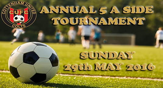Cottenham 5 a side Tournament