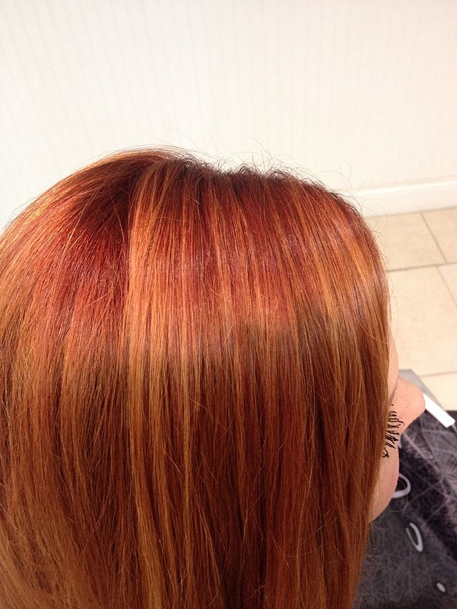 Modern colors to highlight the perfect haircut in st augustine fl copper with blonde highlightsg pmusecretfo Image collections