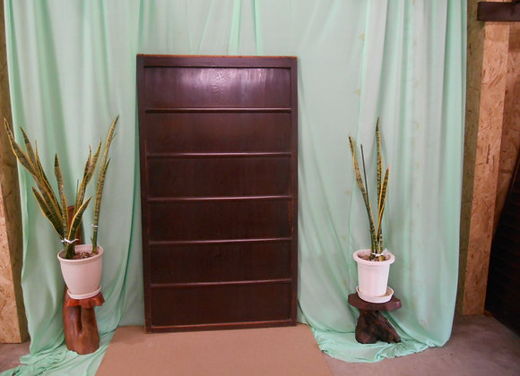 木製建具 横桟5本