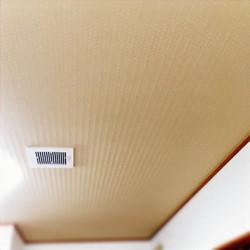 天井壁紙の貼替