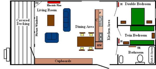 Internal Dyemill Lodge layout