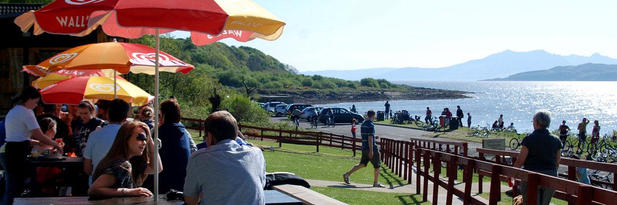 Fintry Bay Tearoom on the west coast