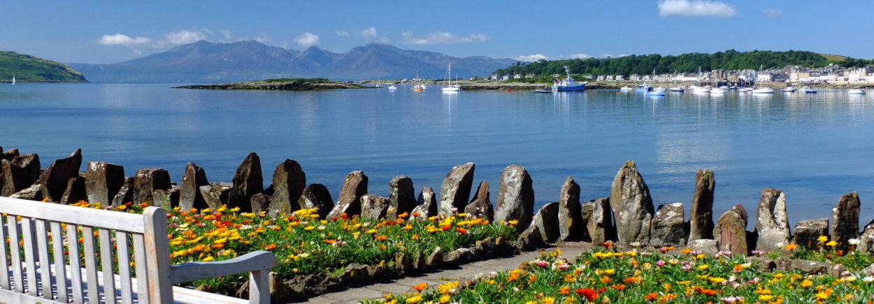view from Kames Bay, Millport