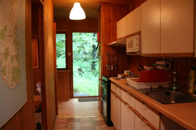 Kitchen - Lodge 3 - Arran
